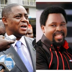 Fani Kayode Visits Prophet TB Joshua | Read What He Later Said About The Man Of God